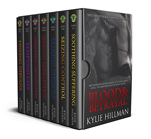 Black Shamrocks MC series by Kylie Hillman