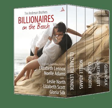 Billionaires on the Beach: The Anderson Brothers by Elizabeth Lennox, Gloria Silk, Leslie North, Lizabeth Scott & Noelle Adams