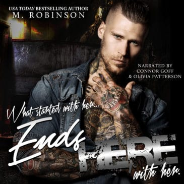 Ends Here (Road to Nowhere, #2) by M. Robinson