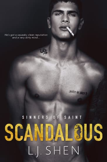 Scandalous (Sinners of Saint, #3) by L.J. Shen
