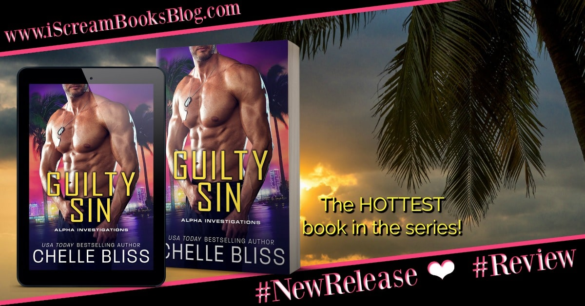Guilty Sin (ALFA Investigations, #4) by Chelle Bliss - iScream Books