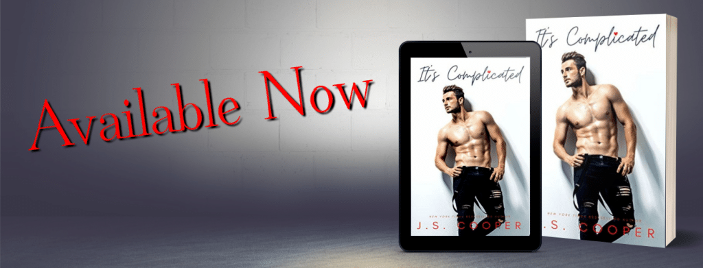It's Complicated by J.S. Cooper - banner