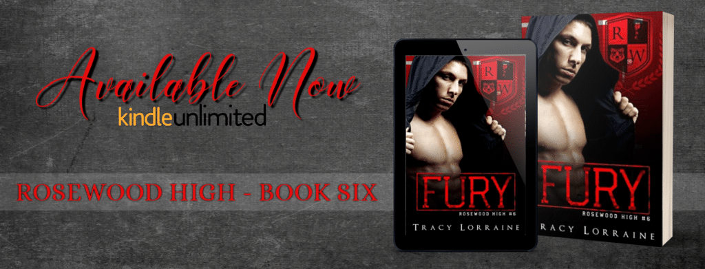 FURY by Tracy Lorraine - banner
