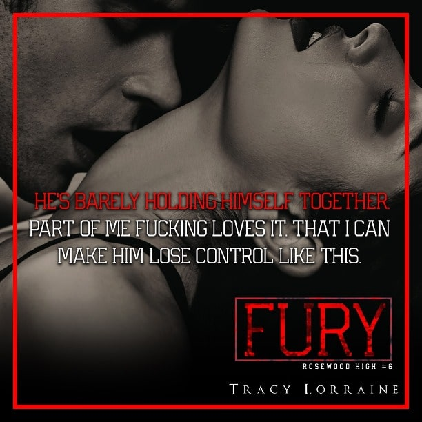 FURY by Tracy Lorraine - barely