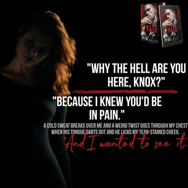 Hate Me by Ashley Jade - pain