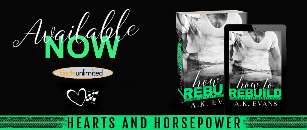 How to Rebuild by A.K. Evans - banner