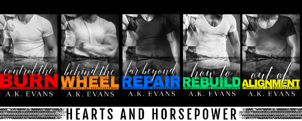 How to Rebuild by A.K. Evans - series