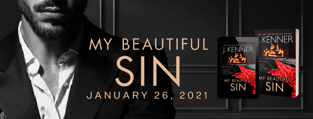 My Beautiful Sin by J. Kenner - banner