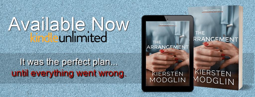 The Arrangement by Kiersten Modglin  - banner