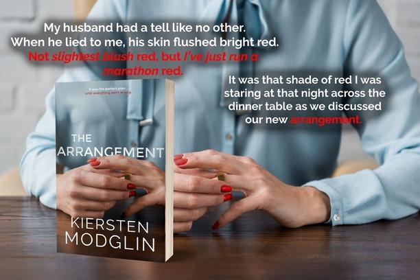 The Arrangement by Kiersten Modglin  - flushed