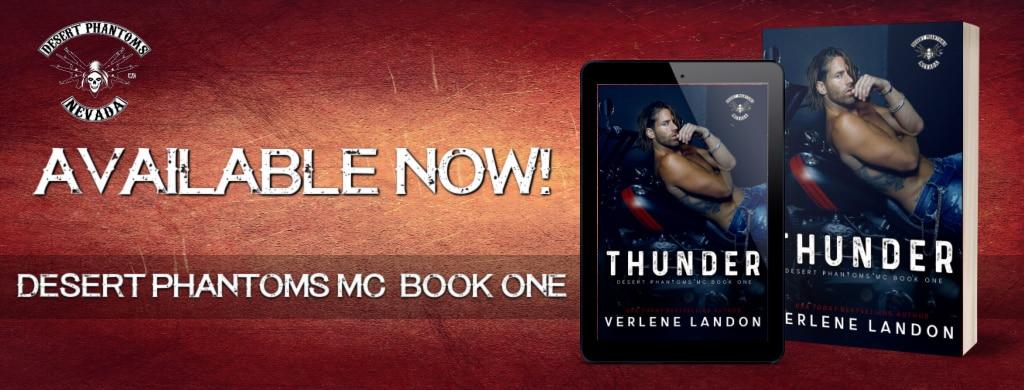 Thunder by Verlene Landon - banner