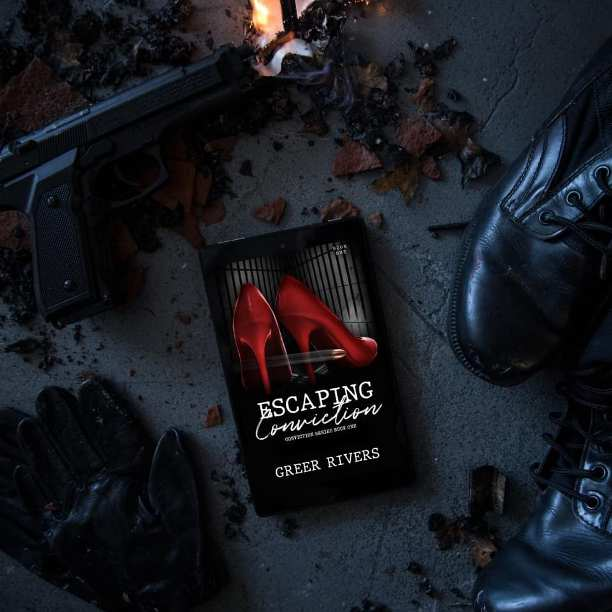 Escaping Conviction by Greer Rivers - gun