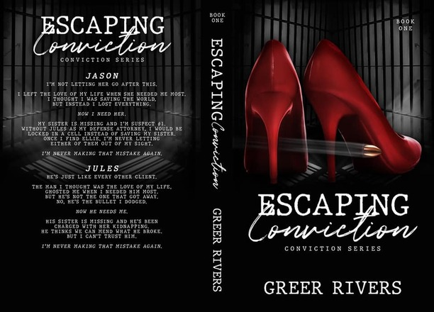 Escaping Conviction by Greer Rivers - jacket