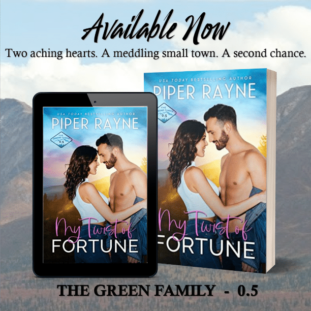 My Twist of Fortune by Piper Rayne - available