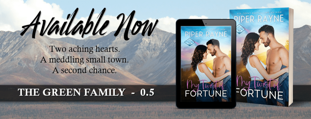 My Twist of Fortune by Piper Rayne - banner