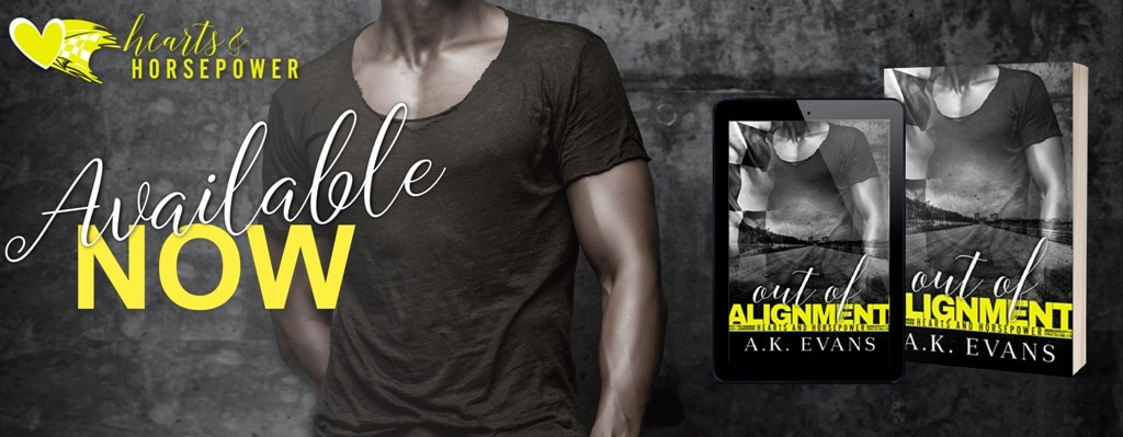Out of Alignment by A.K. Evans - banner