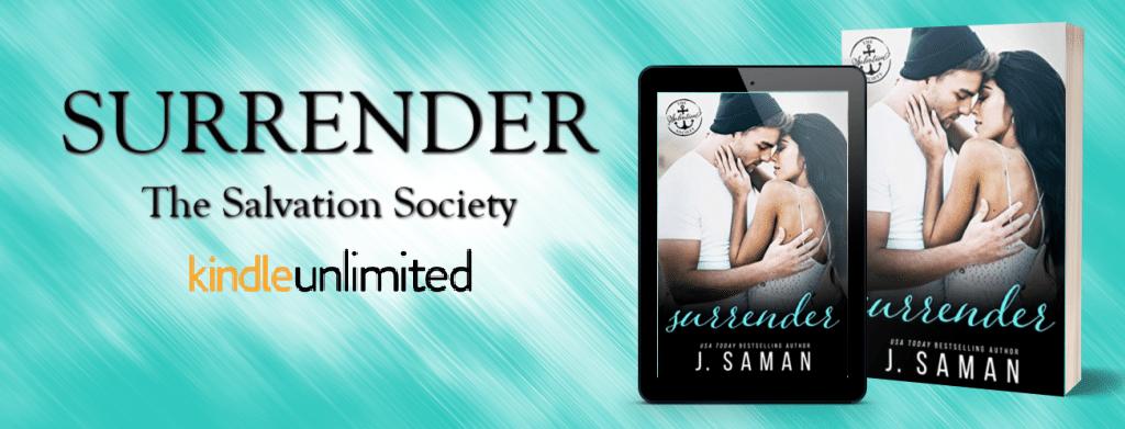 Surrender by J. Saman  - banner