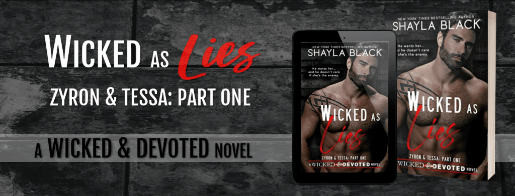 Wicked as Lies by Shayla Black - banner