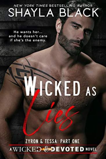 Wicked as Lies by Shayla Black - cover