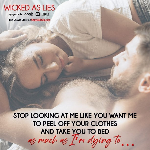 Wicked as Lies by Shayla Black - dying