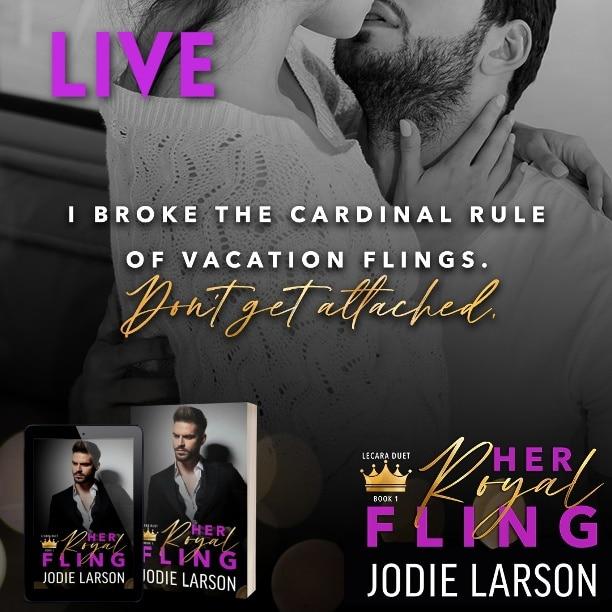 Her Royal Fling by Jodie Larson - cardinal rule