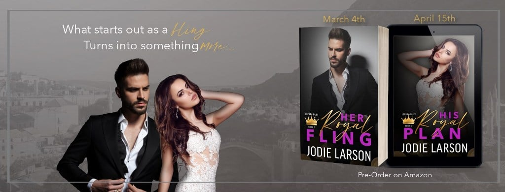 Her Royal Fling by Jodie Larson - banner