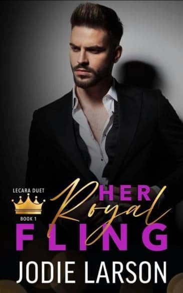 Her Royal Fling by Jodie Larson - cover
