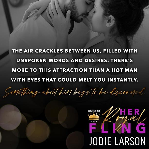 Her Royal Fling by Jodie Larson - crackles