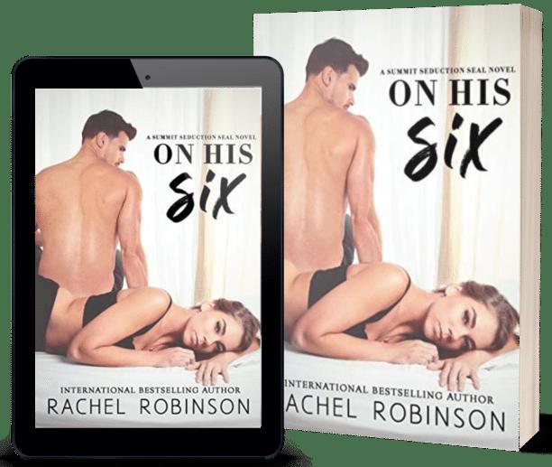 On His Six by Rachel Robinson - mockup