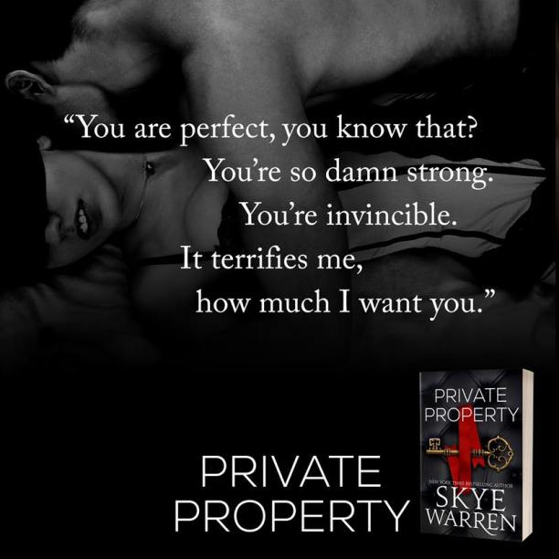 Private Property by Skye Warren - perfect