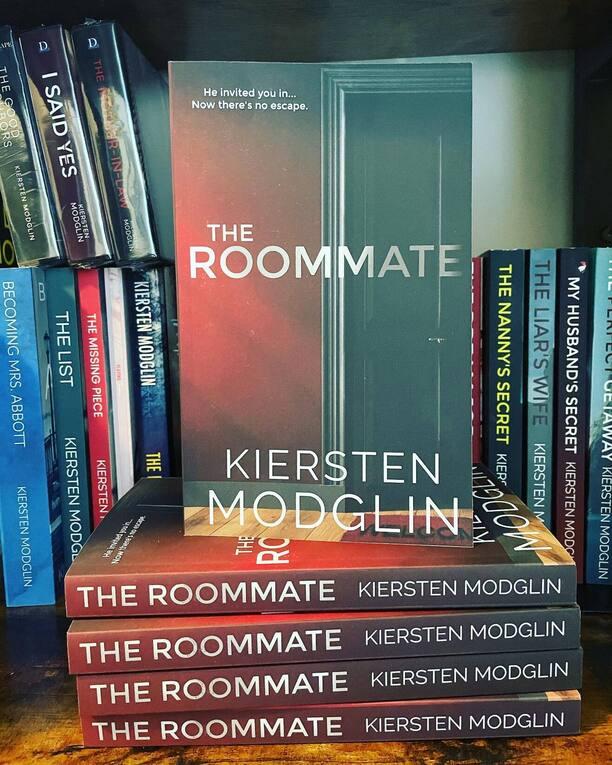 The Roommate by Kiersten Modglin - paperbacks