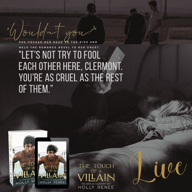 The Touch of a Villain by Holly Renee - live