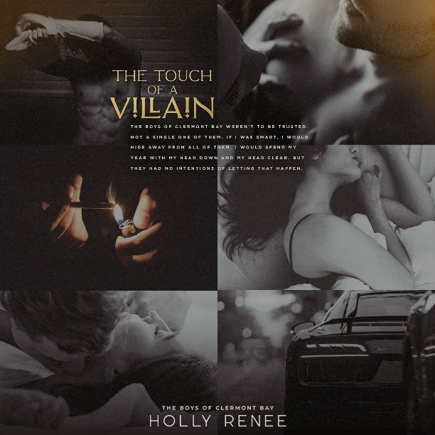 The Touch of a Villain by Holly Renee - collage