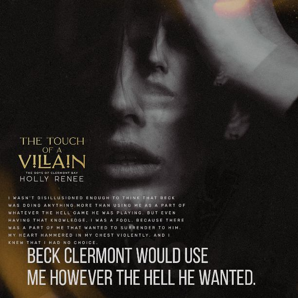 The Touch of a Villain by Holly Renee - use me