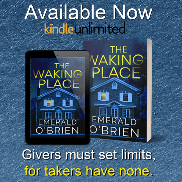 The Waking Place by Emerald O'Brien - available