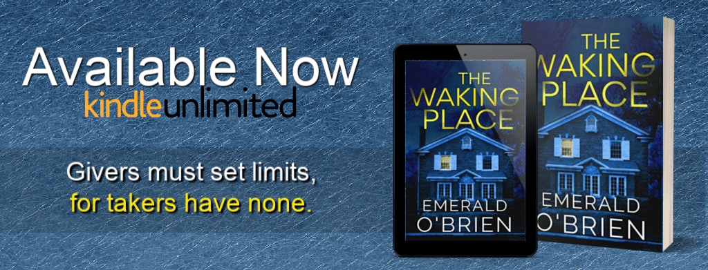 The Waking Place by Emerald O'Brien - banner