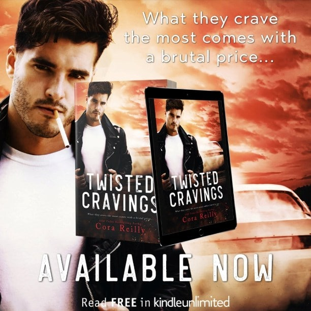 Twisted Cravings by Cora Reilly - available