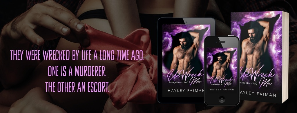 UnWreck Me by Hayley Faiman - banner