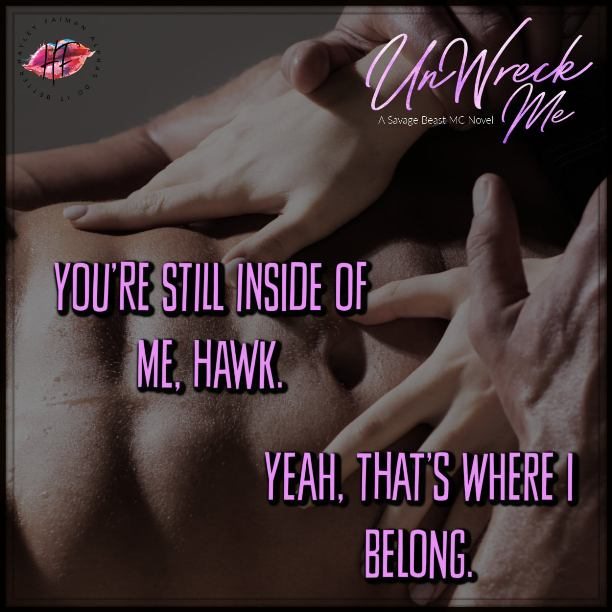 UnWreck Me by Hayley Faiman - inside