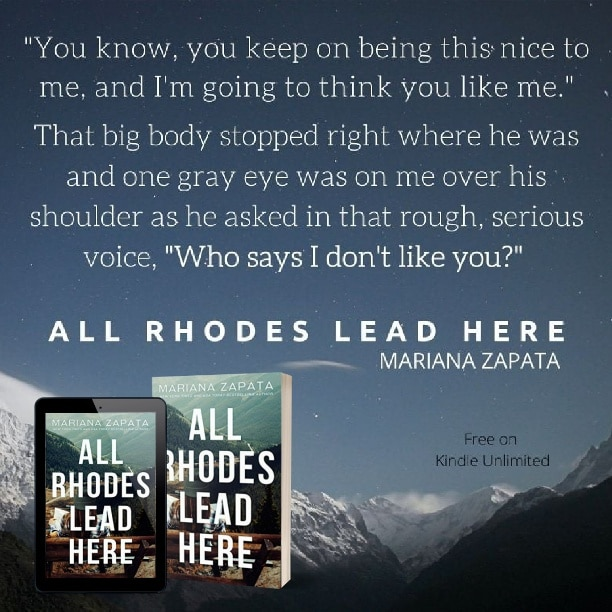 All Rhodes Lead Here by Mariana Zapata - nice