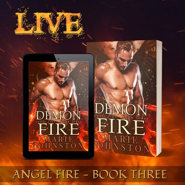 Demon Fire by Marie Johnston - LIVE