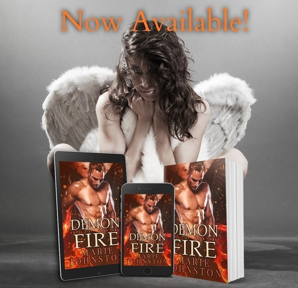 Demon Fire by Marie Johnston - available