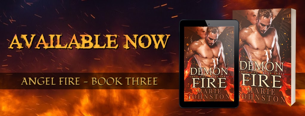 Demon Fire by Marie Johnston - banner