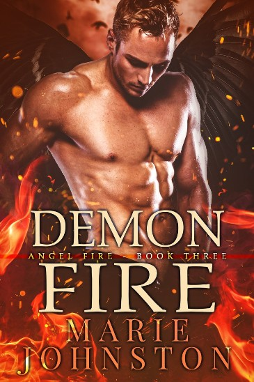 Demon Fire by Marie Johnston - cover