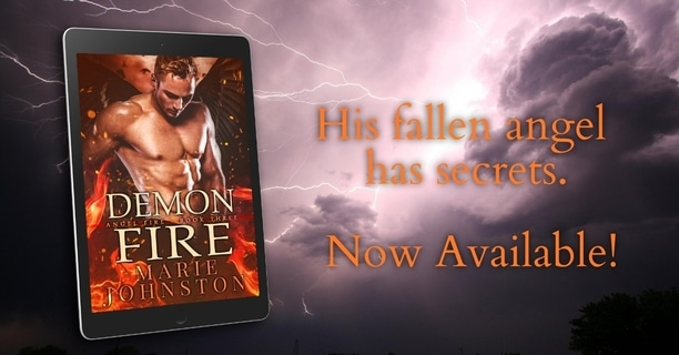 Demon Fire by Marie Johnston - secrets
