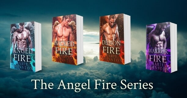 Demon Fire by Marie Johnston - series