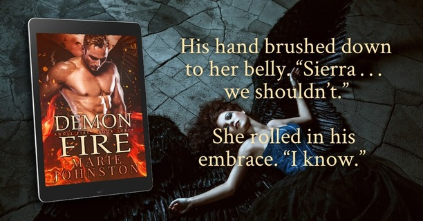 Demon Fire by Marie Johnston - I know