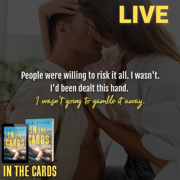 In the Cards by A.K. Evans - gamble