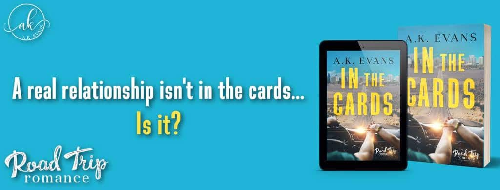 In the Cards by A.K. Evans - banner