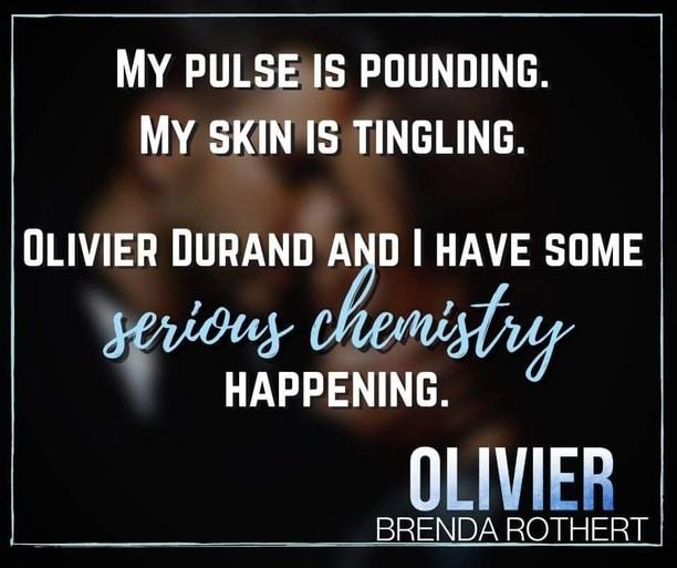 Olivier by Brenda Rothert - chemistry